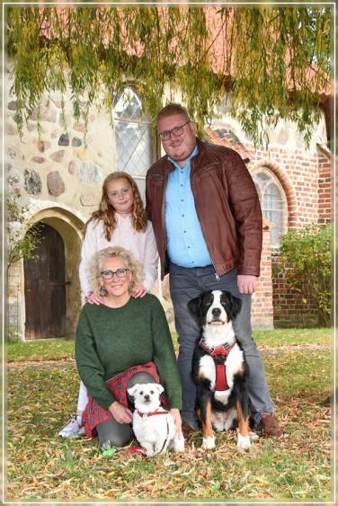 Familie, Hundefotos, Wieren, Landkreis Uelzen